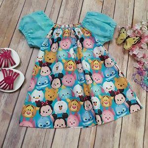 Pixie Dust Designs Peasant Dress sz. 12/18 Infant